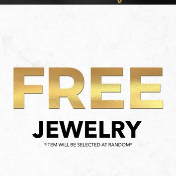 Black Friday 2018 Free Photography Jewelry Gift With Purchase