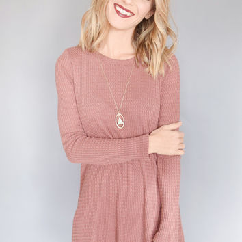 Snow Day Thermal Dress Brick