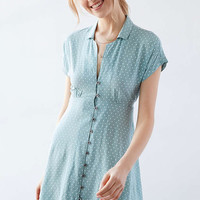 Kimchi Blue Lucy Sky Shirt Dress - Urban Outfitters