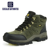 New Men/Women Hiking Shoes Non-slip Waterproof Climbing Shoes Anti-skid Wear Resistant