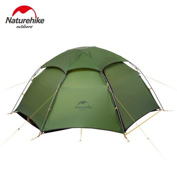 2 Person 2 Layer Rainproof Windproof Dome Tent