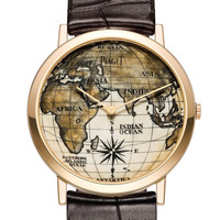 Piaget Altiplano 38mm Scrimshaw Pink Gold Men's Watch GOA38SCPG