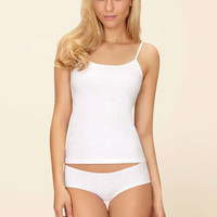 Cotton Camisole And Knickers Set - White | Boux Avenue