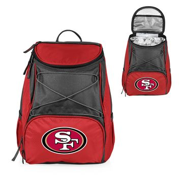 San Francisco 49ers 'PTX' Cooler Backpack