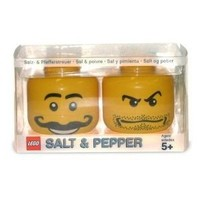 Lego Mini Figure Salt & Pepper Shaker Set