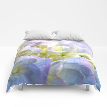 Spring Hydrangeas Comforters by UMe Images