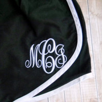 SALE!, Monogram Athletic Shorts, Running Shorts, Cheer Shorts, Southern Girls