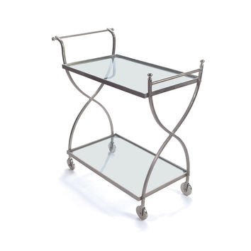 "Eclipse Home Collection Phantom Bar Cart 31"" L  x 17"" W  x 35.5"" H"