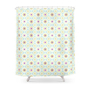Society6 Moroccan Spring Shower Curtain