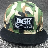 DGK Patch Camo Snap-Back