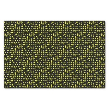 Yellow Stars Tissue Paper