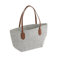 crewcuts Girls Straw Tote