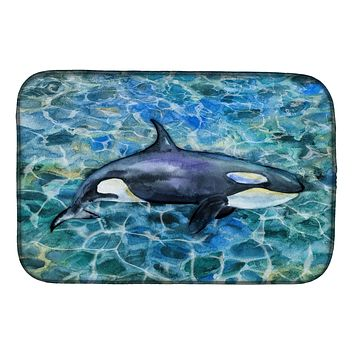 Killer Whale Orca Dish Drying Mat BB5334DDM