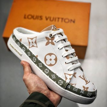 Kuyou Fa1973 Lv Louis Vuitton Slippers For Women And Men