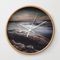 We are colliders Wall Clock by HappyMelvin