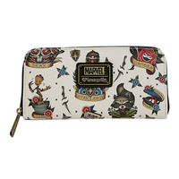 Loungefly Marvel Guardians Of The Galaxy Tattoo Print Zipper Wallet