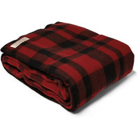 Filson - Mackinaw Plaid Virgin Wool Blanket | MR PORTER