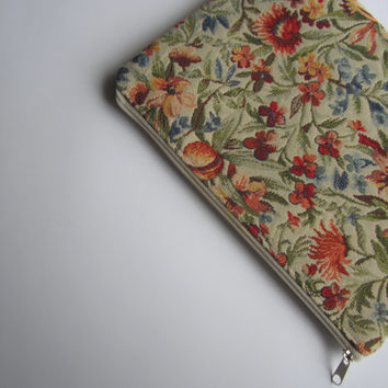 Floral MacBook Air 11 sleeve with zipper, MacBook Air 11 case, MacBook Air 11 Cover, Laptop Sleeve Cover Case, MacBook case