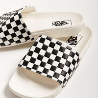 Vans Checkerboard Pool Slide - Urban Outfitters