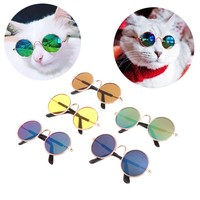 Fashion Small Pet Sunglasses Dog Cat Glasses Grooming Eye-Wear