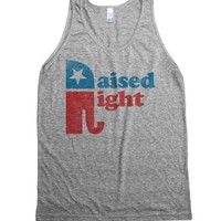 Athletic Grey Tank | Fun Political Conservative Shirts
