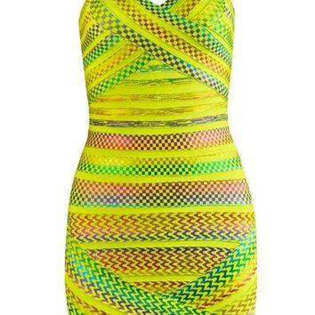 Fancy prom dresses colorful strap backless