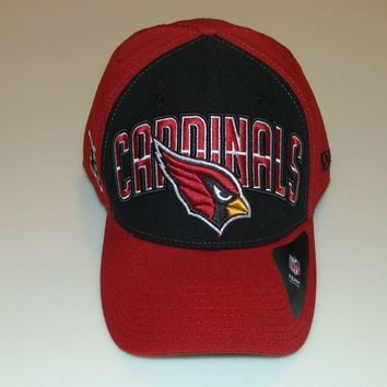 New Era Hat Cap NFL Football Arizona Cardinals M/L 39thirty 2013 Draft Flex Fit