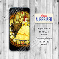 Disney, Beauty and beast, iPhone 5 case, iPhone 5C Case, iPhone 5S case, Phone case, iPhone 4 Case, iPhone 4S Case, dyp01