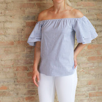 Sandrine Off The Shoulder Top