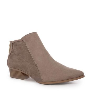 Taupe Marie Ankle Bootie
