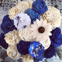Jennifer Custom Order :: 12 Flowers :: Air Force Bouquet :: No Air Force Flowers