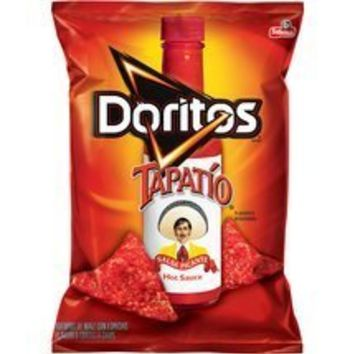Frito Lay, Doritos® Brand, Tapatio Hot Sauce Flavored Tortilla Chips, 10oz Bag (Pack of 3)