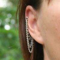 Chains  cartilage earrings (456)