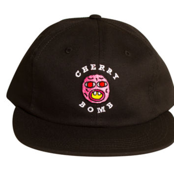 CHERRY BOMB OLD MAN HAT BLACK