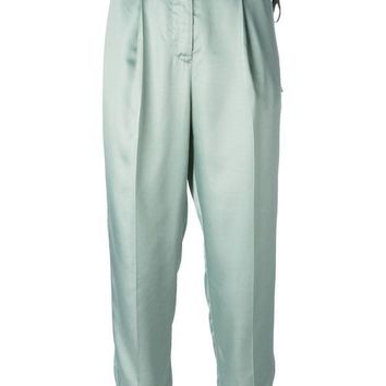 DCCKIN3 MM6 By Maison Martin Margiela high waisted trousers