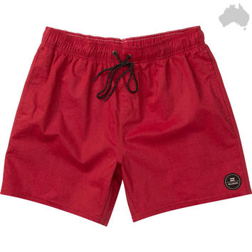 SPINNER SOLID ELASTIC SHORTS