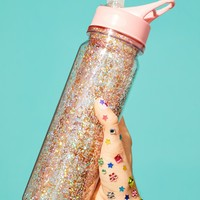 Free People Glitter Bomb Water Bottle