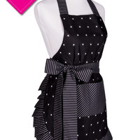 Women's Dazzling Dots Original Flirty Apron