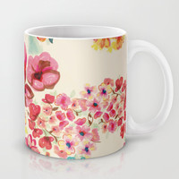 Flowers Mug by Moniquilla