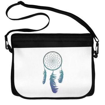 Mystic Dreamcatcher Neoprene Laptop Shoulder Bag