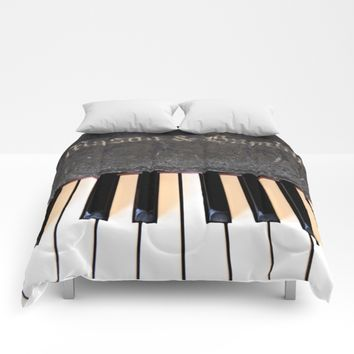 Antique Mason & Hamlin Piano Comforters by UMe Images