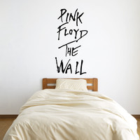 Pink Floyd The Wall Vinyl Wall Words Decal Sticker Graphic