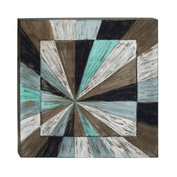 "Wood Wall Art 39""W, 39""H"