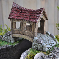 Covered Bridge - My Fairy Gardens