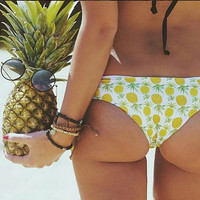 On Sale Hot Deal Pineapple Beachwear Men Sexy Beach Ladies Swimming Trunk [6420303684]