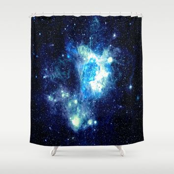 NEbula. Shower Curtain by 2sweet4words Designs