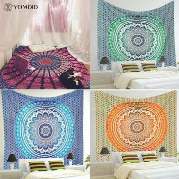 Wall Tapestries Indian Mandala Tapestry Cover Yoga Mat