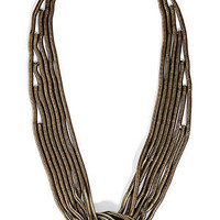 STYLEBOP.com | The Knox brass necklace by DANNIJO | the latest trends from the fashion capitals of the world