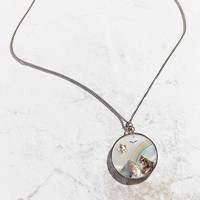Vintage Mother Of Pearl Charm Necklace - Urban Outfitters