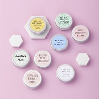 Personalised Lip Balm Favour